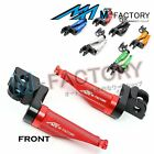 Front Racing Extended Foot Pegs Fit Triumph Daytona 675 /R Bonneville T100/T120 $42.8 USD on eBay