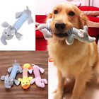 Pet Chew Squeaker Squeaky Plush Sound Pig Elephant Duck Ball For Dog Toys