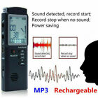 Voice Recorder Mini Digital Sound Audio Dictaphone Rechargeable MP3 Player