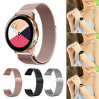 For Samsung Galaxy Watch Active 2 42 40 44mm Silicone Band Magnetic Wrist Strap image