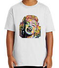 Kyпить New Marilyn Kid's T-shirt Hollywood star Marylin Monroe Tee for Youth - 1493C на еВаy.соm