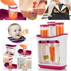 Fresh Squeezed Squeeze Station Baby Weaning Food Puree Reusable Pouches