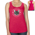 Real Men Love Cats Racerback Cute Kitten Women's Tank Top - 1867C