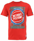 FISLL NBA Basketball Men's Detroit Pistons Distressed Team Logo T-Shirt on eBay