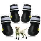 Waterproof Dog Shoes Large Snow Boots Paw Protector Booties Reflective Non Slip