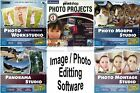 Photo Image Editing Management Software PC Windows XP Vista 7 Sealed New