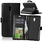 Slim Wallet Leather Flip Case Cover For ZTE Blade A510 A610 A530 V9 L3 S6 A6 A5