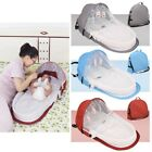 Kyпить Infant Sleeping Basket Travel Bassinet Foldable Baby Bed Sunshade Mosquito Net на еВаy.соm