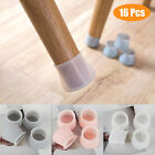 16PCS Silicone Chair Leg Caps Feet Cover Pads Furniture Table Floor Protectors