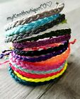 Kyпить Waterproof Braid Bracelet, Choose Your Color, wax cord, boho, surf, beach, vsco на еВаy.соm