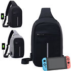 Backpack Travel Protective Bag USB Charging Carrying Case For Nintendo Switch