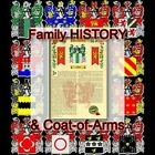 Armorial Name History - Coat of Arms - Family Crest 11x17 MCMILLEN-TO-MOUNT