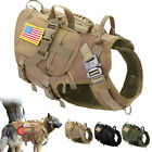 TACTICAL MILITARY HEAVY DUTY DOG VEST HARNESS K9 MOLLE HUNTING TRAINING 3xPOUCH