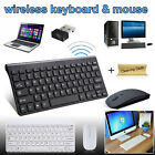 Kyпить 2.4GHZ USB Wireless Slim Keyboard For PC Laptop and Cordless Mouse Combo Kit Set на еВаy.соm