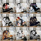 Star Elvis Presley 3D Print Sherpa Blanket Sofa Couch Quilt Cover throw blankets