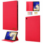 For Samsung Tab A T290/T510/S5e T720/S6 T860 PU Leather Wallet Stand Case Cover