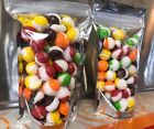 Freeze Dried Skittles space balls Two 2-oz packages crunchy candy $6.5 USD on eBay