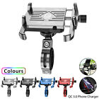 Universal Motorcycle Cell Phone Handlebar Mount Holder USB Charger 3.5-6 Inch US