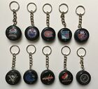 Mini NHL Hockey Puck Keychain - Choose Your Team $3.49 CAD on eBay