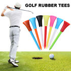 83mm Golf Tees Plastic With Rubber Cushion Top High Quality Multi Color 100PC CA