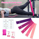 02 US Workout Resistance Bands Loop Set Fitness Yoga Booty Leg Exercise  Band