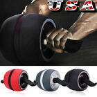 Abdominal Roller Wheel Ab Carver Muscle Exercisers Abs Gym Fitness Workout HOT image