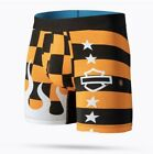 Harley Davidson Stance Boxer Brief Harley Check Wholester-Orange  M901A20STR $39.99 USD on eBay