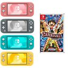 NEW Nintendo Switch Lite Carnival GAMES PICK Turquoise - Gray - Yellow - Coral