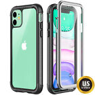 For iPhone X, XR, XS Max Full Body Screen Protector Clear Shockproof Case Cover