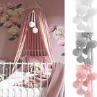 Chiffon Balls Kid Baby Bed Net Hanging Decoration Home Ornament Accessories Gift