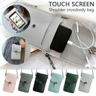 Womens Small Mini Pu Leather Wallet Purse Coin Cell Phone Crossbody Shoulder Bag