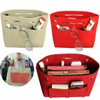 Handbag Organizer Bag Purse Insert Bag Felt Multi Pocket Tote Bag For Women Girl image