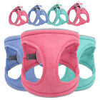 Small Dog Cat Pet Control Harness Step In Walk Collar Reflective Padded Vest S-L