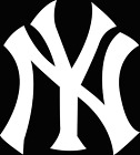 New York Yankees Logo Sticker  |  Vinyl Decal  | 10 Sizes!!! on Ebay
