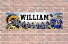 Los Angeles Rams 2020 Roster Personalized Poster Customized Banner Frame Options $27.5 USD on eBay