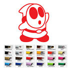 Shy Guy Decal Sticker for Car Window SUV Laptop Macbook Home Wall Door game room