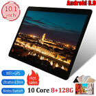 """10.1"""" 8+128gb Android 8.0 Wifi Pc Round Hole Camera Gps Call Tablet"""