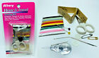LOT OF 2 Allary Portable Sewing Kit Case Mini Home Travel Emergency Sewing Set