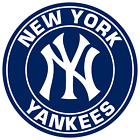 New York Yankees Circle Logo Vinyl Decal / Sticker 10 Sizes!!! on Ebay