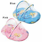 Baby Mosquito Cradle Bed Net Cushion Canopy Mattress Infant Tent Foldable Pillow image
