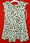 NWT Cat & Jack girls cheetah print dress