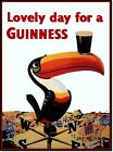 Lovely Day for a Guinness Vintage Beer Poster Reproduction