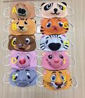 KIDS 100% Cotton Kid's face mask Reusable washable Thick Breathabe Cheap Price