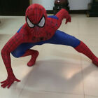 Boys Kid SpiderMan Costume Superhero Cosplay Party Fancy Dress Jumpsuit + Mask