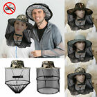 Mosquito Bee Insect Protection Hat Face Head Net Mesh Sun Cap for Hiking Fishing