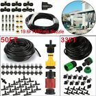 20-50ft Outdoor Misting Cooling System Garden Irrigation Water Mister Nozzles