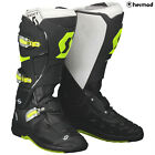 Scott Sports 550 Off Road Motorcycle MX Boots - Black/Yellow