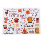Cute Placemats Kitchen Waterproof Placemat Table Runner Heat-resistant Dinner Hs