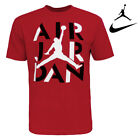 Nike Air Jordan Men's Cotton Active Short Sleeve T Shirt Jumpman Graphic Logo image