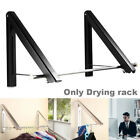 Laundry Drying Rack Indoor Wall-mount Retractable Folding  Clothes Airers